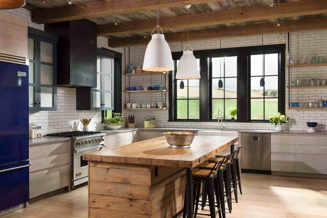 Farmhouse style residence embraces warm and inviting ...