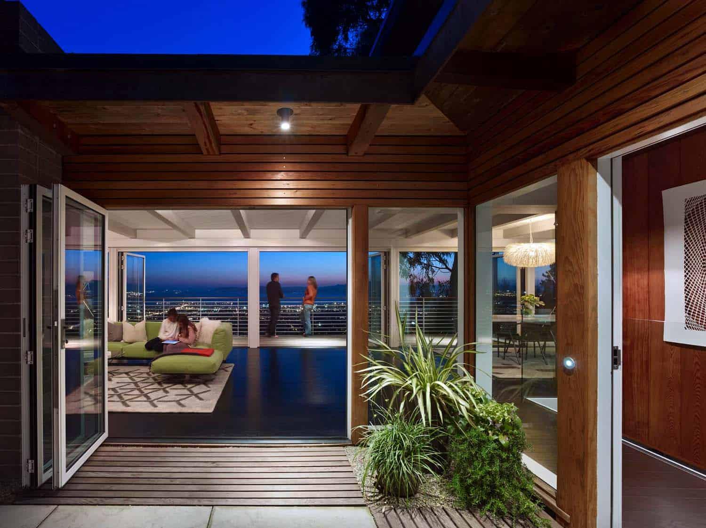 Stunning mid century modern home renovation in Berkeley Hills