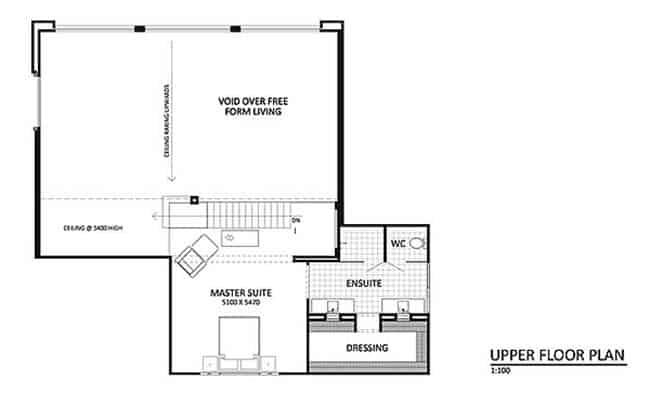 Contemporary home in Australia showcases stunning interior