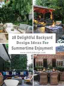 Delightful Backyard Design Ideas Summertime Inspiration