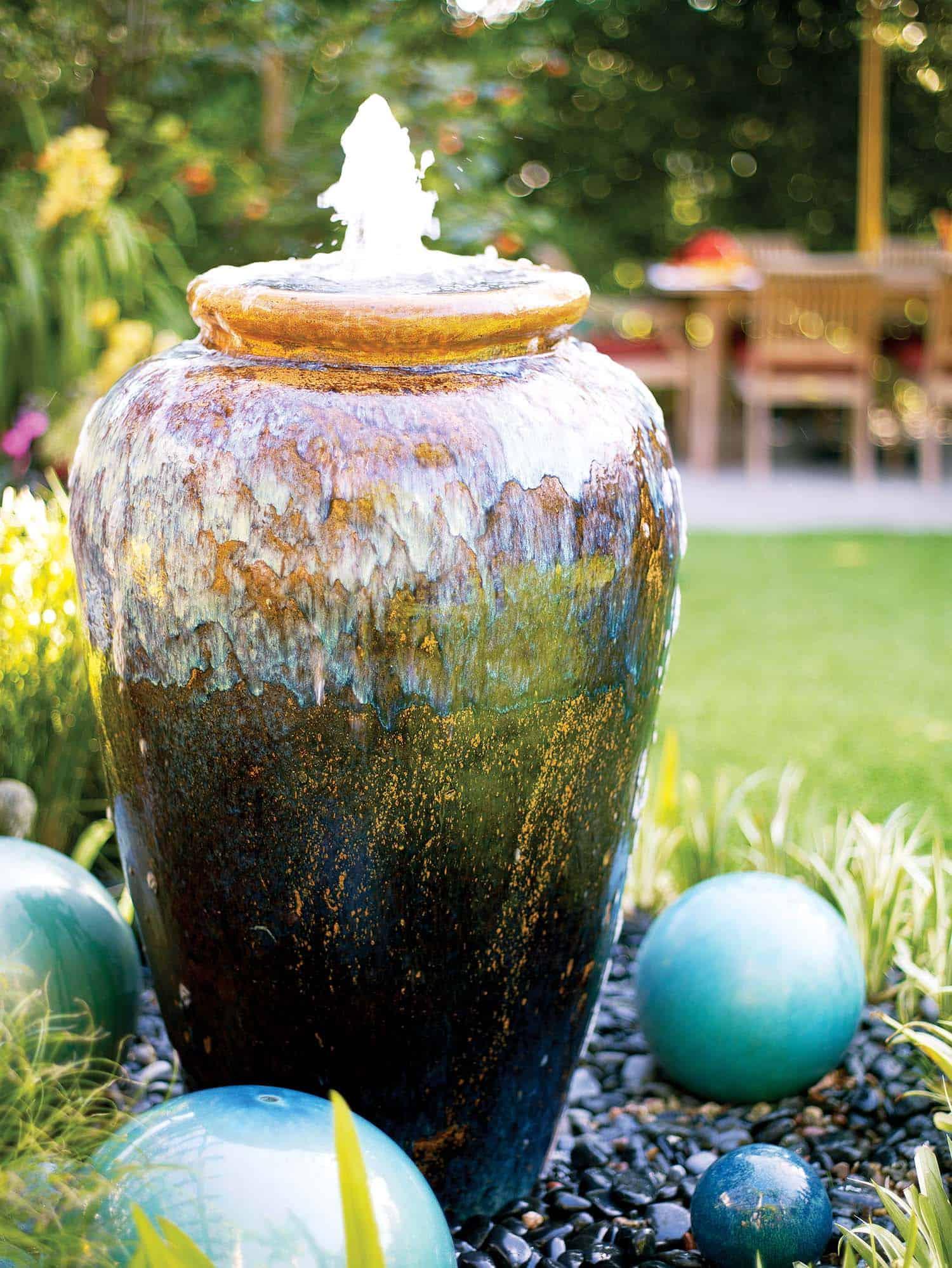 23 inspiring outdoor garden fountains