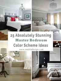 25 Absolutely stunning master bedroom color scheme ideas
