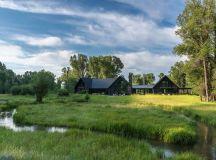 Beautiful fishing cabin offers sweeping views of the Teton ...