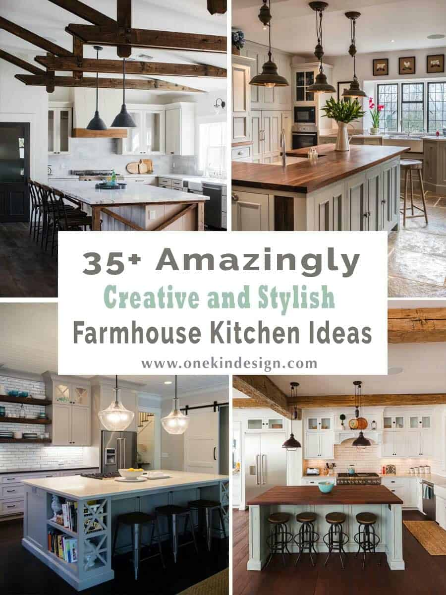 stylish farmhouse kitchen ideas
