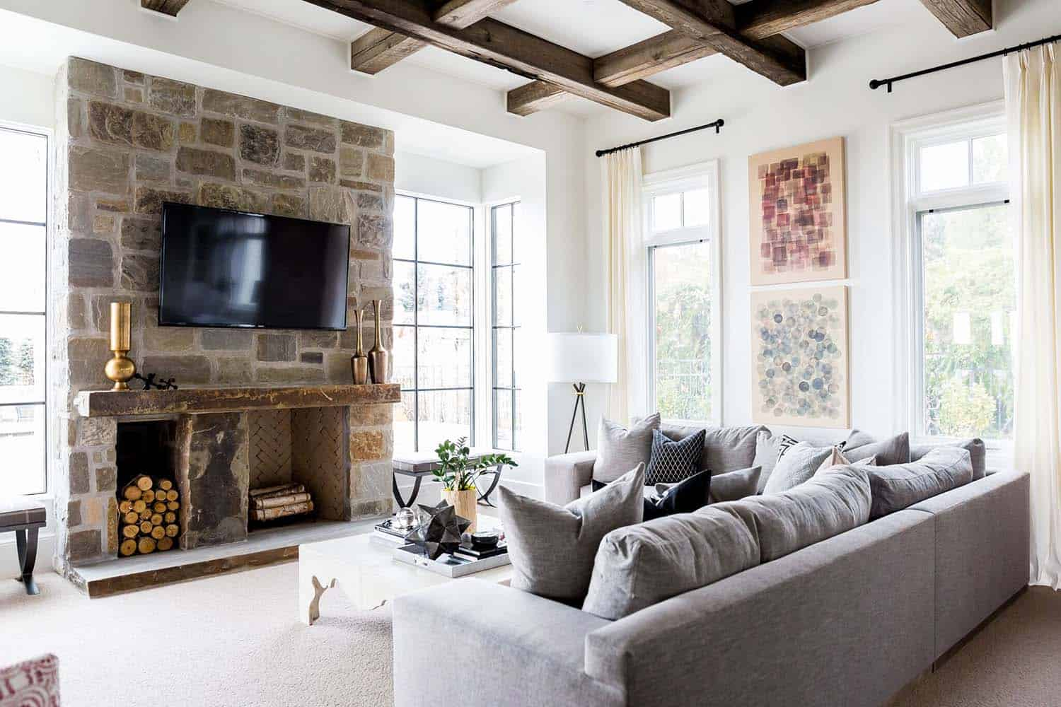 Decadent home in Utah blends French farmhouse with