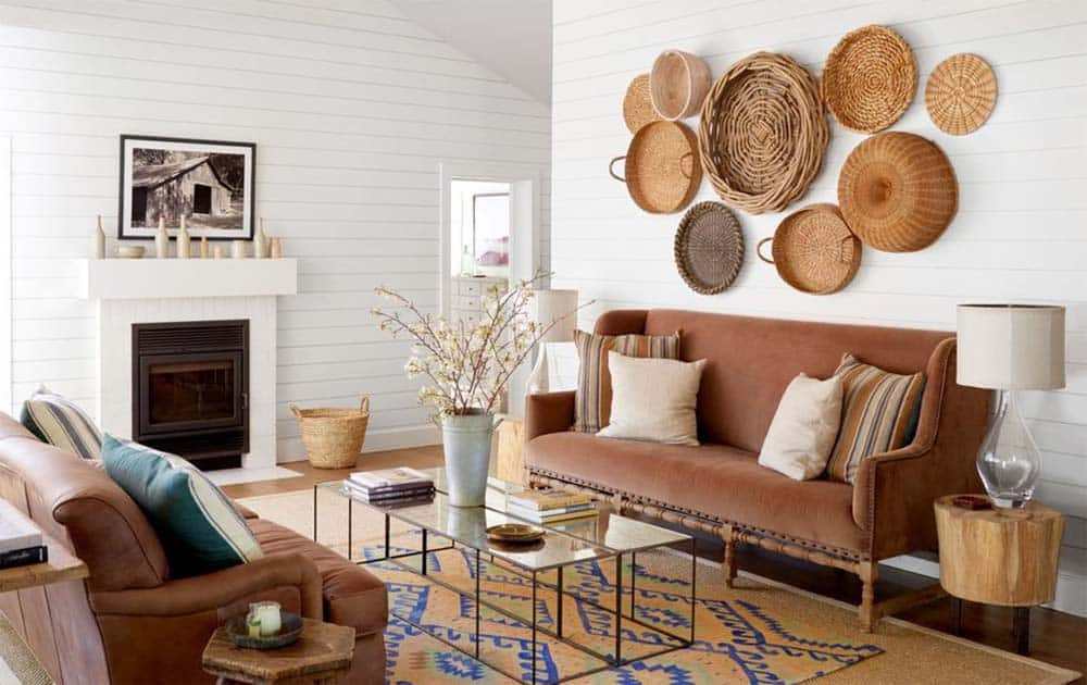 wine country living room sheer curtains house tour beautifully transformed california cottage