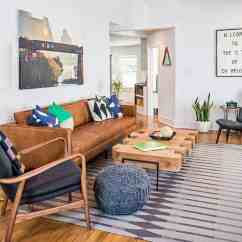 Morden Living Room Interior Design Color Ideas For Rooms 38 Absolutely Gorgeous Mid Century Modern 2 The Sofa Is From West Elm While Area Rug Dwell Studio Wood Framed Chair With Arms And Coffee Table Five Elements On South