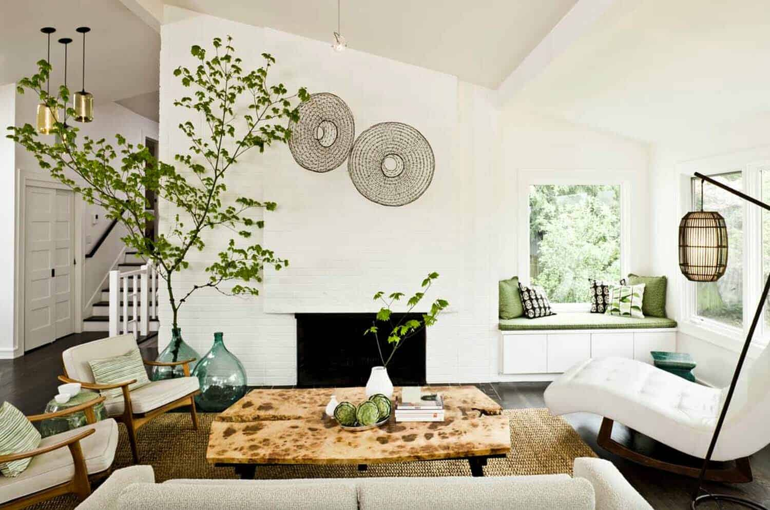 mid century modern living room lighting feng shui color 38 absolutely gorgeous ideas a split level ranch home in portland oregon features this cozy with vintage furnishings see the rest of here