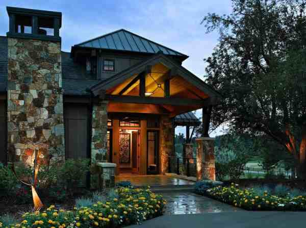 Colorado Mountain Style Homes Designs