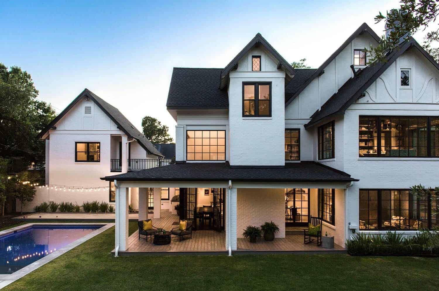 Historic Tudorstyle home in Houston gets a bold modern transformation