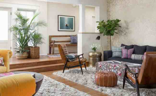 Alluring Modern Eclectic Home With Playful Interiors In