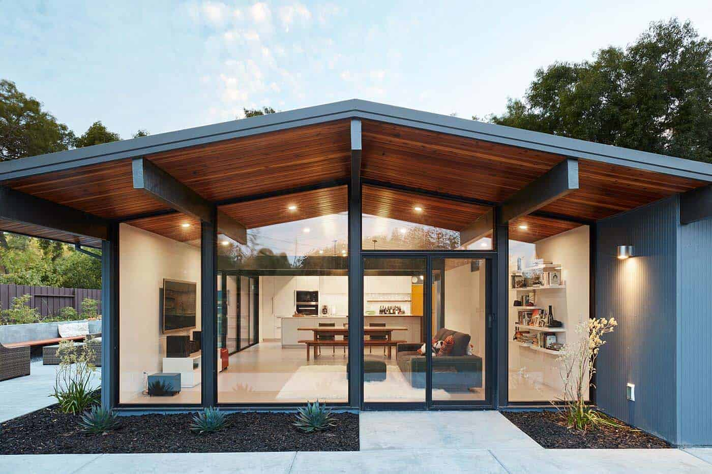 fresh modern update to an eichler house in the san francisco