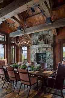 Rustic Mountain Lodge Offers Ski-in Ski- In Montana'