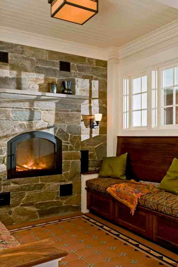 Extremely Cozy Fireplace Reading Nooks Curling