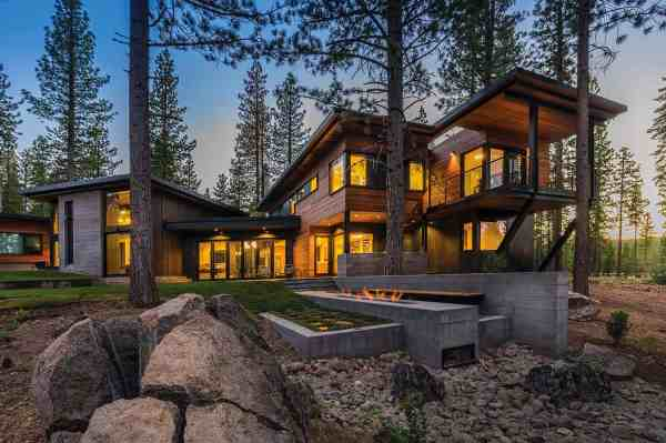 Fabulous Prefabricated Mountain Modern Home Lake Tahoe