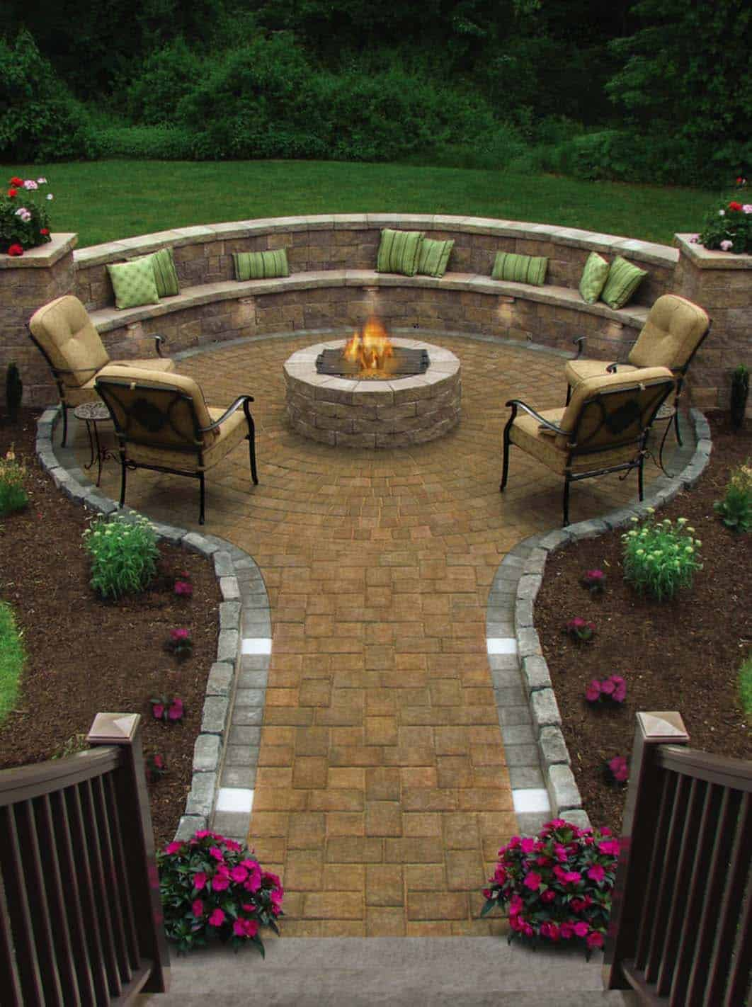28 inspiring fire pit ideas to create a