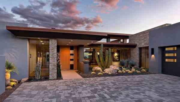 fascinating modern desert home