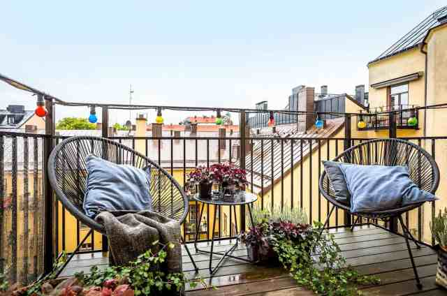 21 Incredibly Inspiring Apartment Balcony Design Ideas
