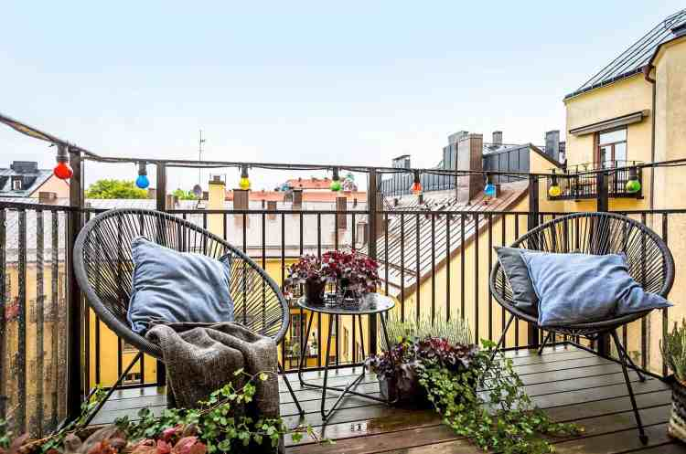 21 Incredibly Inspiring Apartment Balcony Design Ideas
