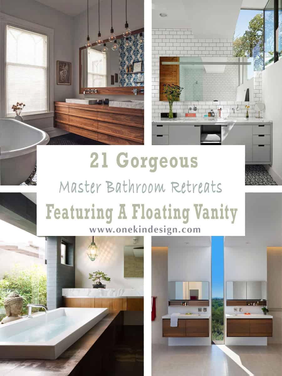 21 gorgeous master bathroom retreats