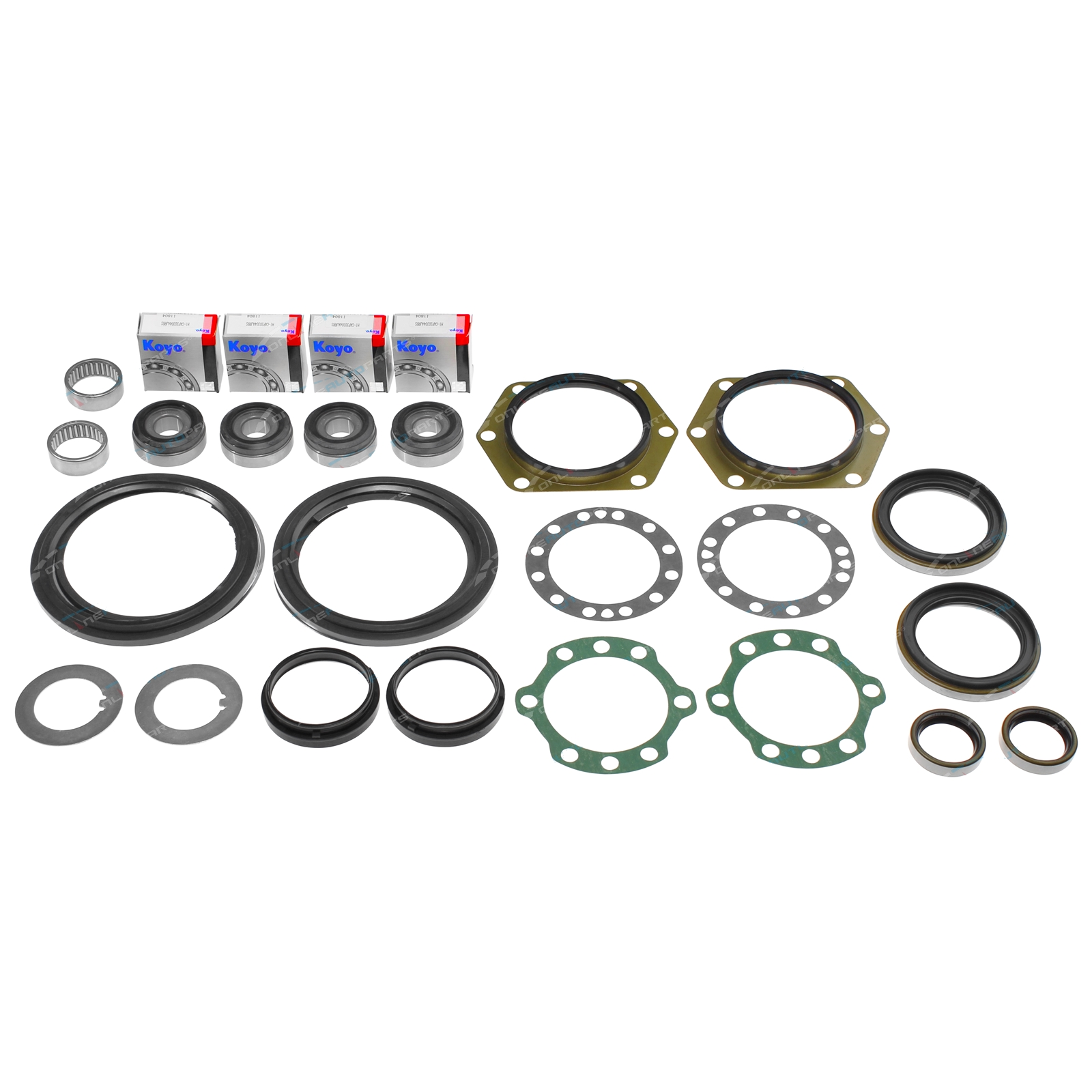 Swivel Hub Knuckle Bearing King Pin + Seal Kit fits Nissan