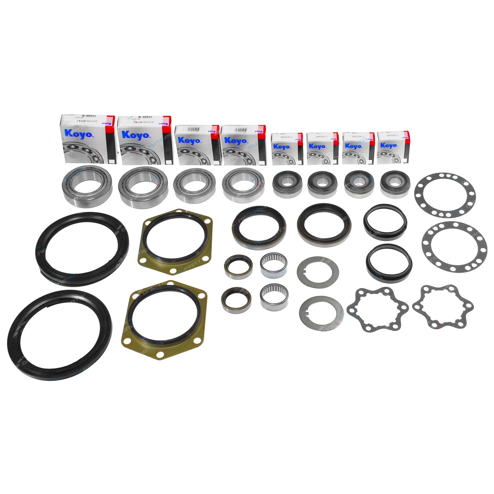 Ford Maverick DA Y60 Swivel Hub Kit with Wheel Bearings