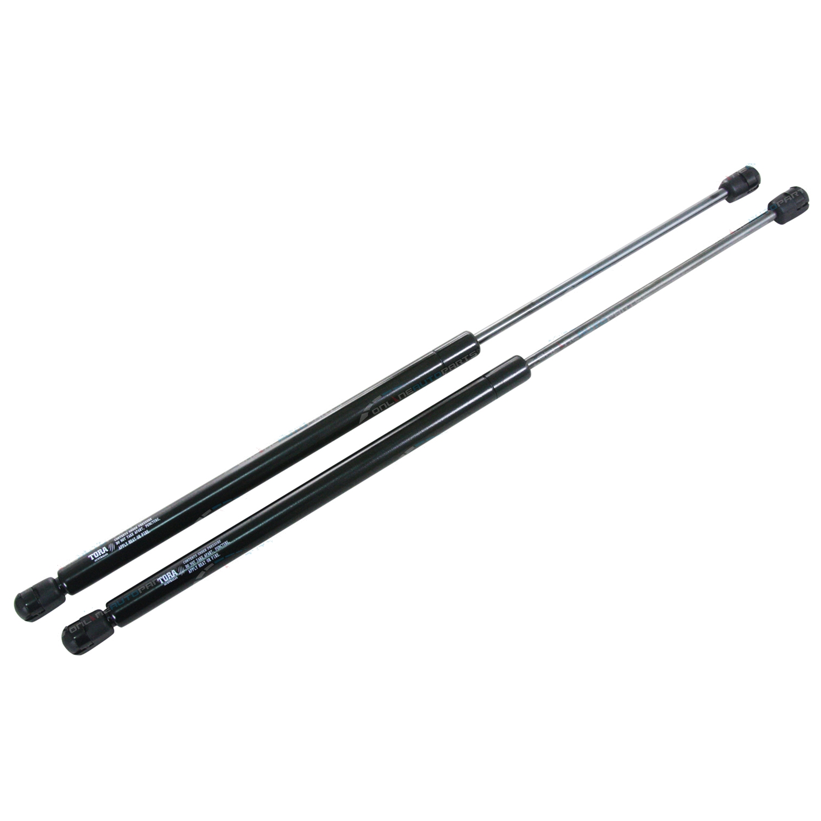 2 Gas Stay Bonnet Struts fits Ford EF EL Falcon Fairmont