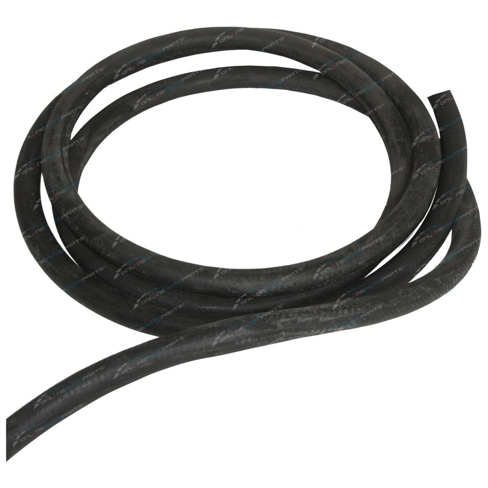 medium resolution of black rubber fuel hose 3 8