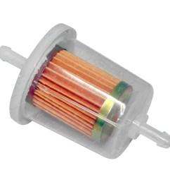 click to enlarge sakura fs1004 in line plastic fuel filter  [ 1600 x 1600 Pixel ]