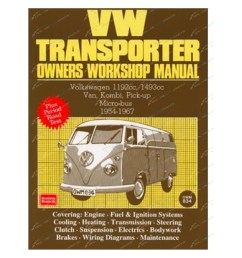 click to enlarge vw transporter owners workshop repair manual volkswagen brooklands books 1954 to 1967 [ 1600 x 1600 Pixel ]
