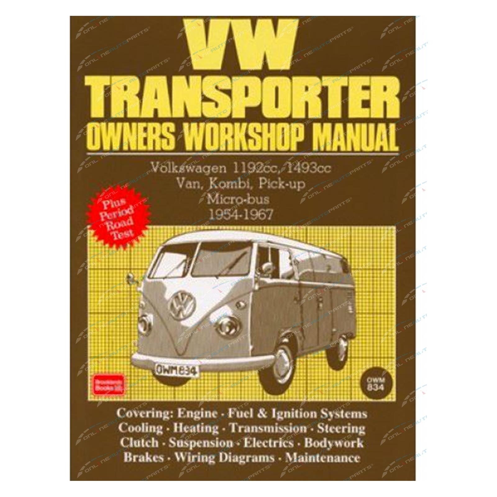 hight resolution of click to enlarge vw transporter owners workshop repair manual volkswagen brooklands books 1954 to 1967