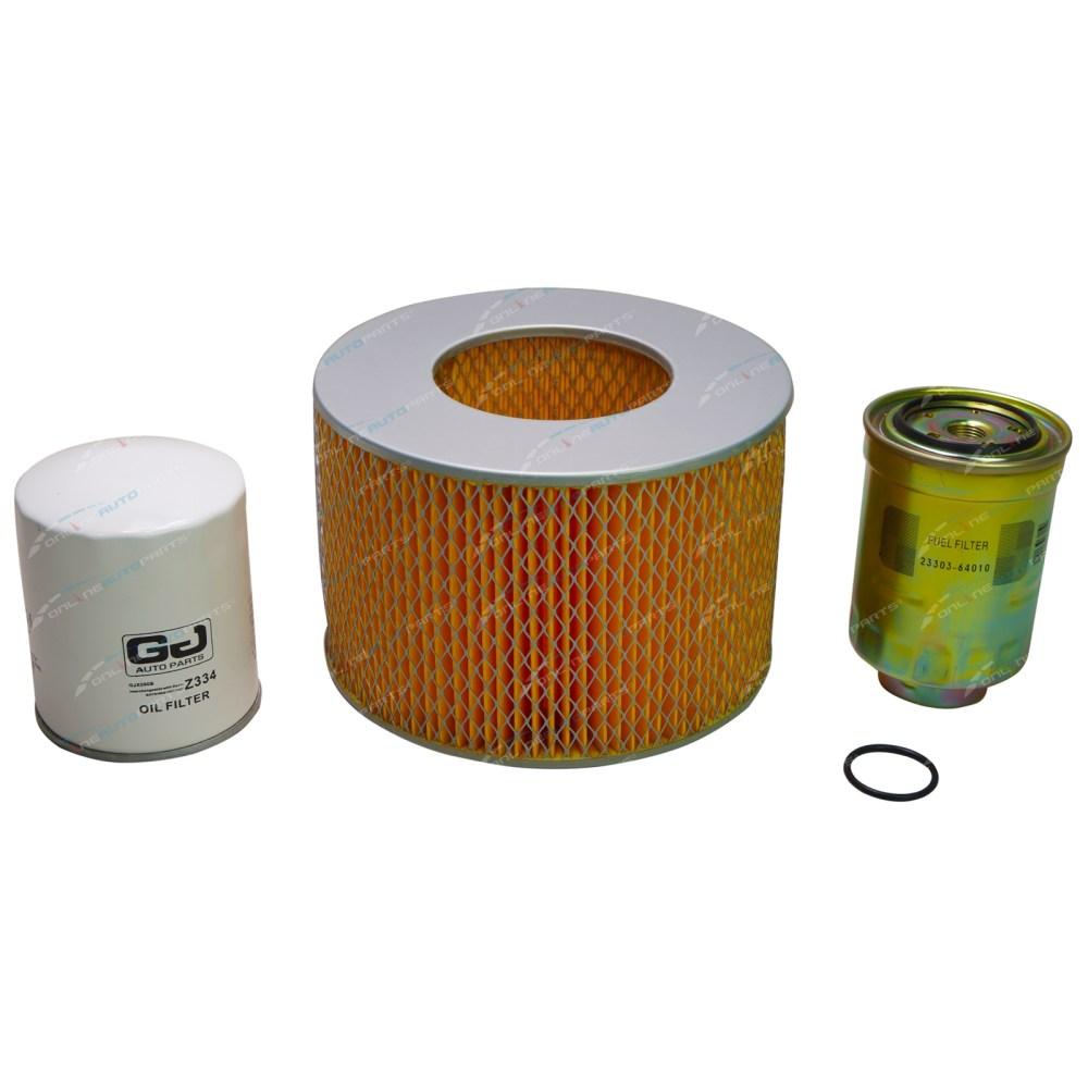 medium resolution of air oil fuel filter service kit suits toyota 1pz landcruiser pzj70 pzj73 5cy 1pz diesel engine