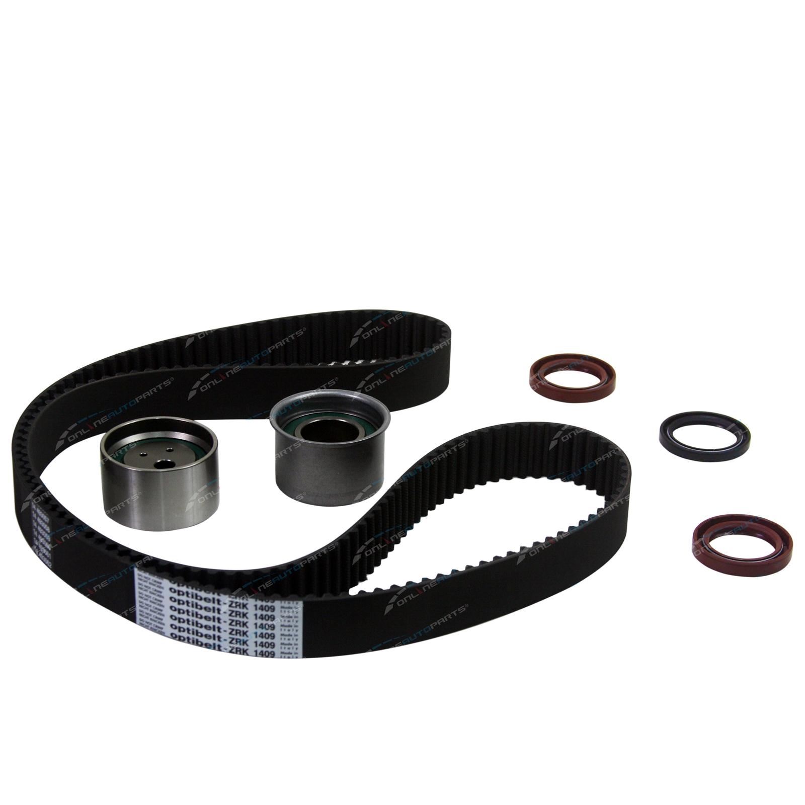 hight resolution of timing belt tensioner kit optibelt suits mitsubishi verada kj
