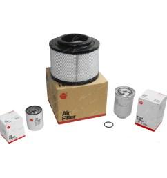 oil air fuel filter kit fit mazda bt 50 4cyl 2 5l wlat [ 1600 x 1600 Pixel ]
