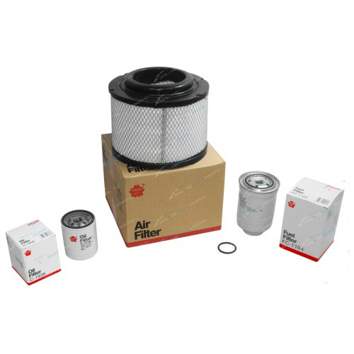 small resolution of oil air fuel filter kit fit mazda bt 50 4cyl 2 5l wlat