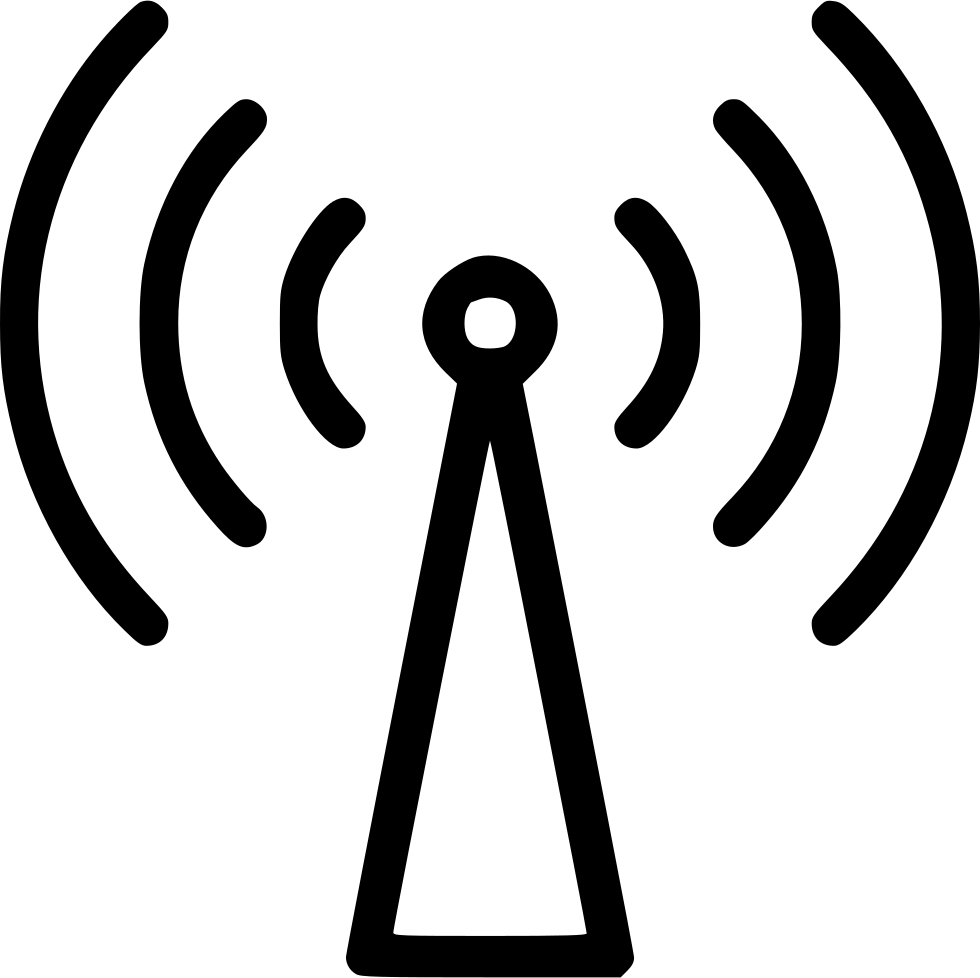 Wi Fi Wlan Connect Internet Signal Antenna Svg Png Icon