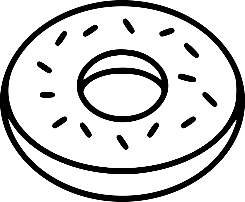 Donut Svg Png Icon Free Download (#483594