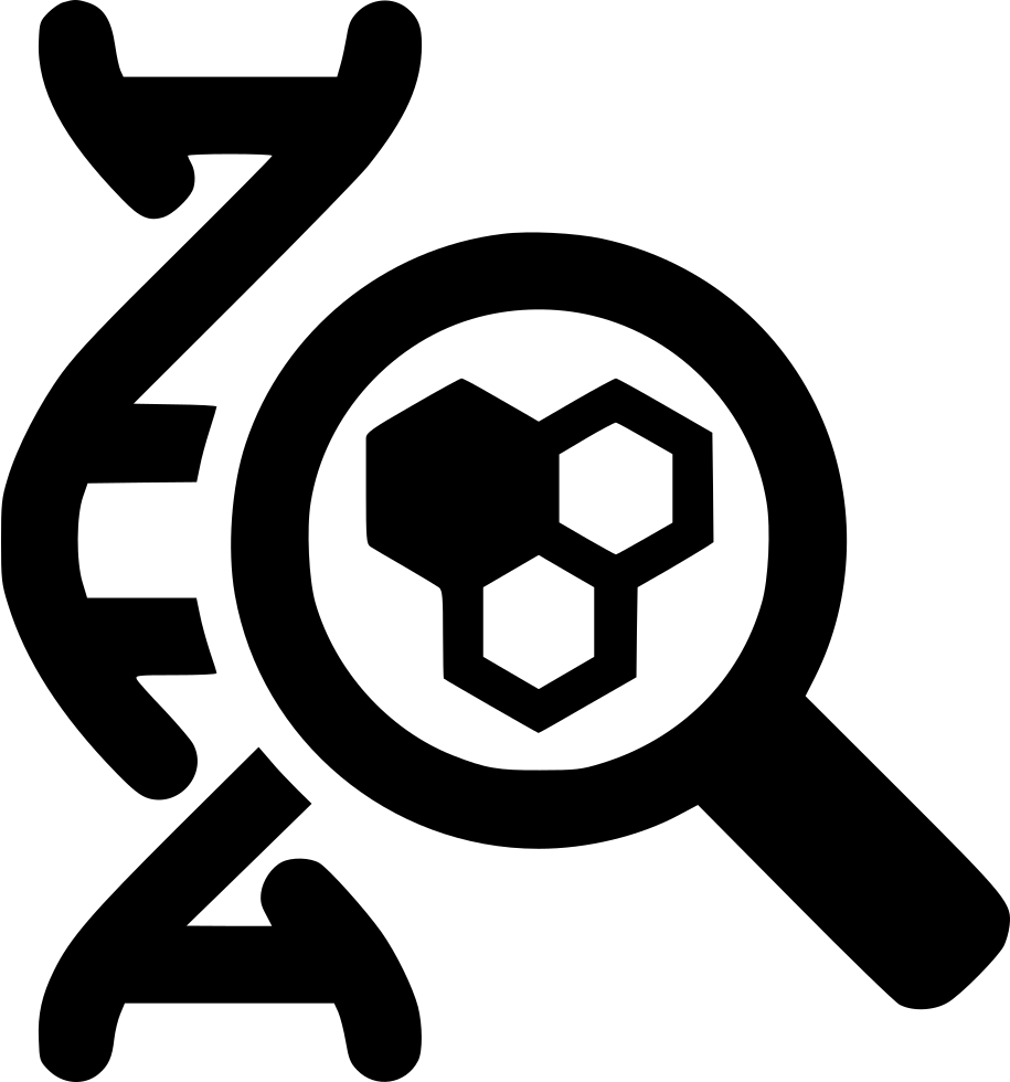 Magnifying Glass Dna Cell Svg Png Icon Free Download