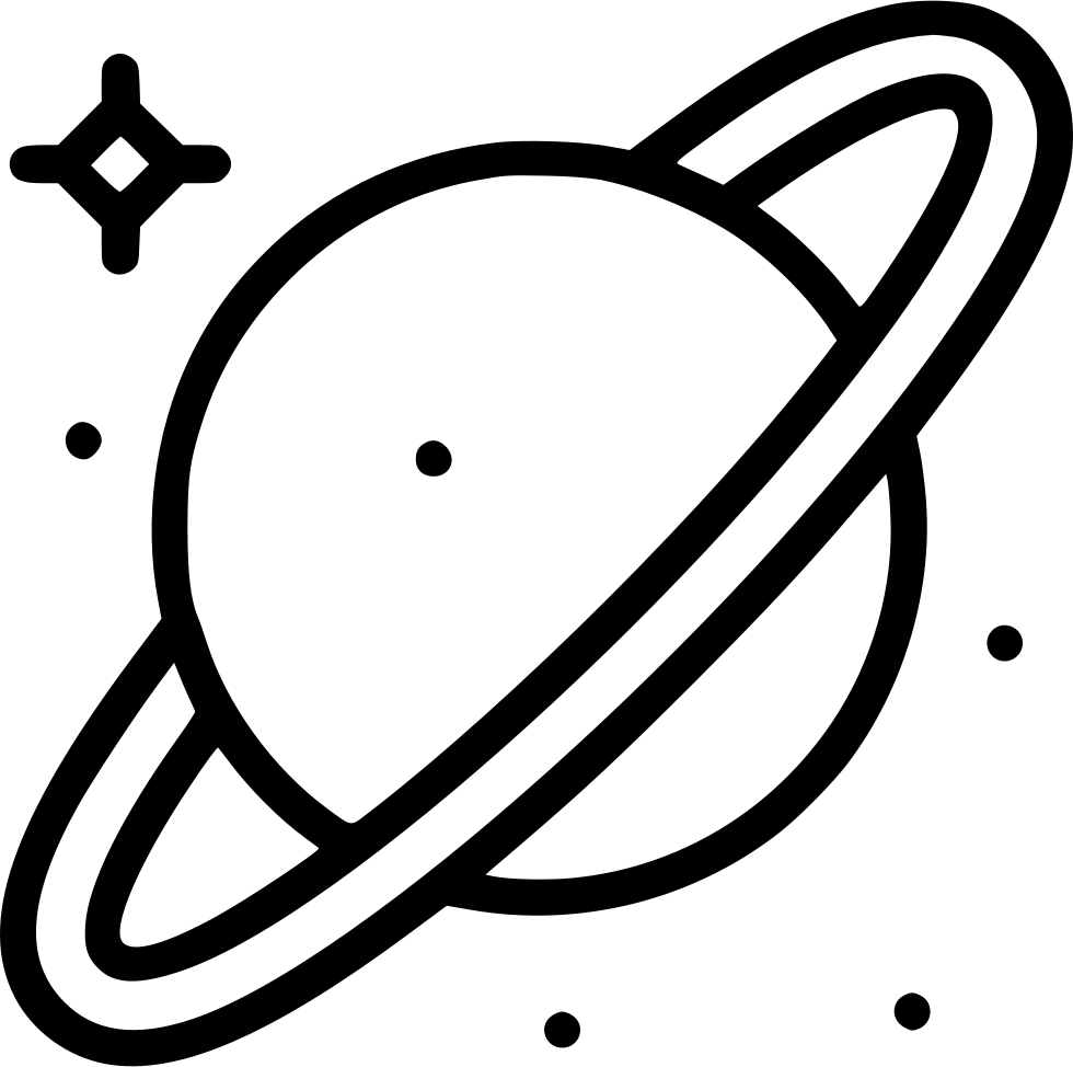 Saturn Svg Png Icon Free Download (#537504