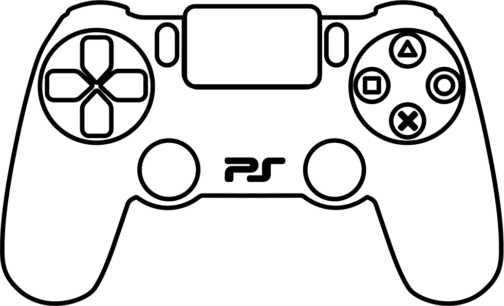 PS4 Controller Svg Png Icon Free Download (#60384