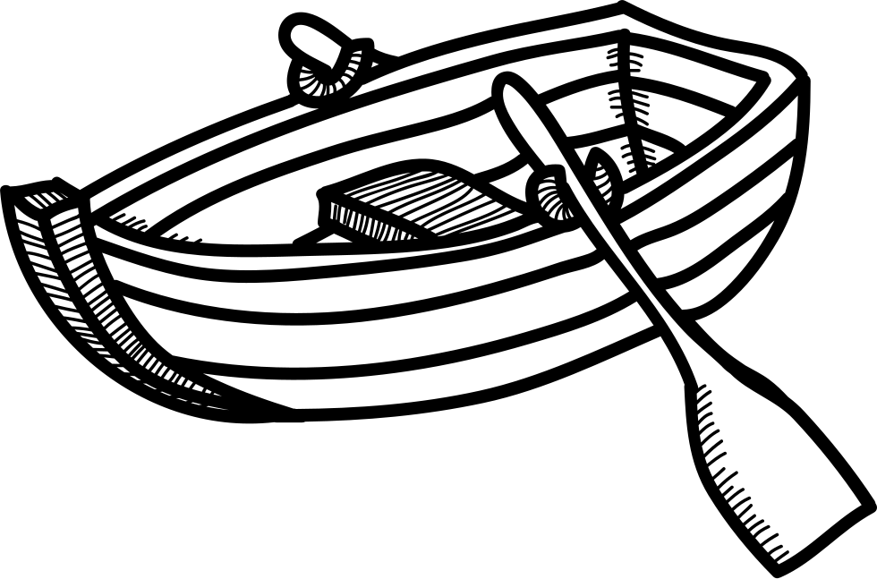 Rowing Boat Svg Png Icon Free Download (#10626