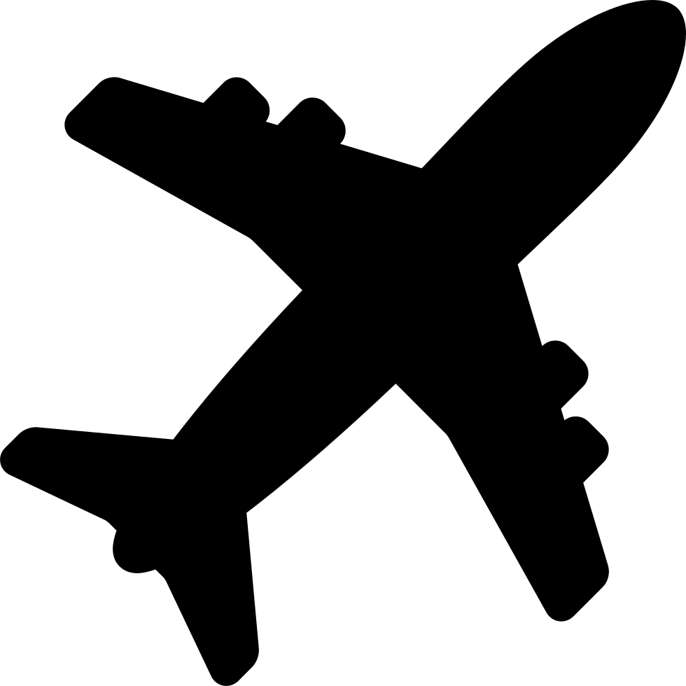 Airplane Shape Svg Png Icon Free Download 10687
