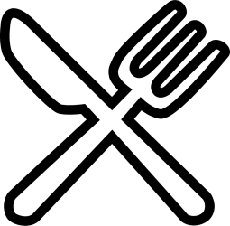 icon fork food svg spoon icons knife western vector drinks file pngtree onlinewebfonts restaurant getdrawings