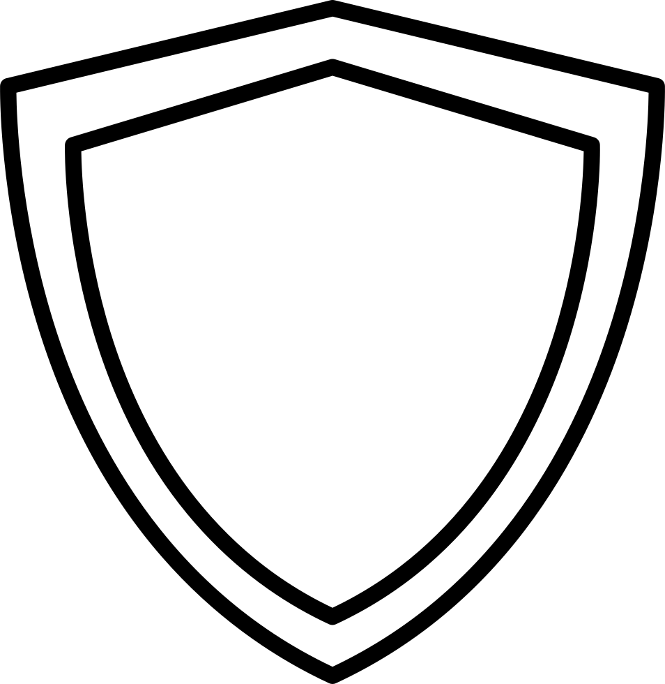 Shield Outline Svg Png Icon Free Download (#18047