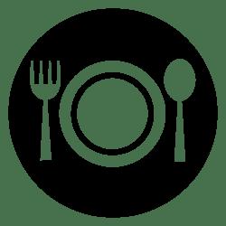 icon restaurant svg transparent onlinewebfonts restaurants file bangkok plate