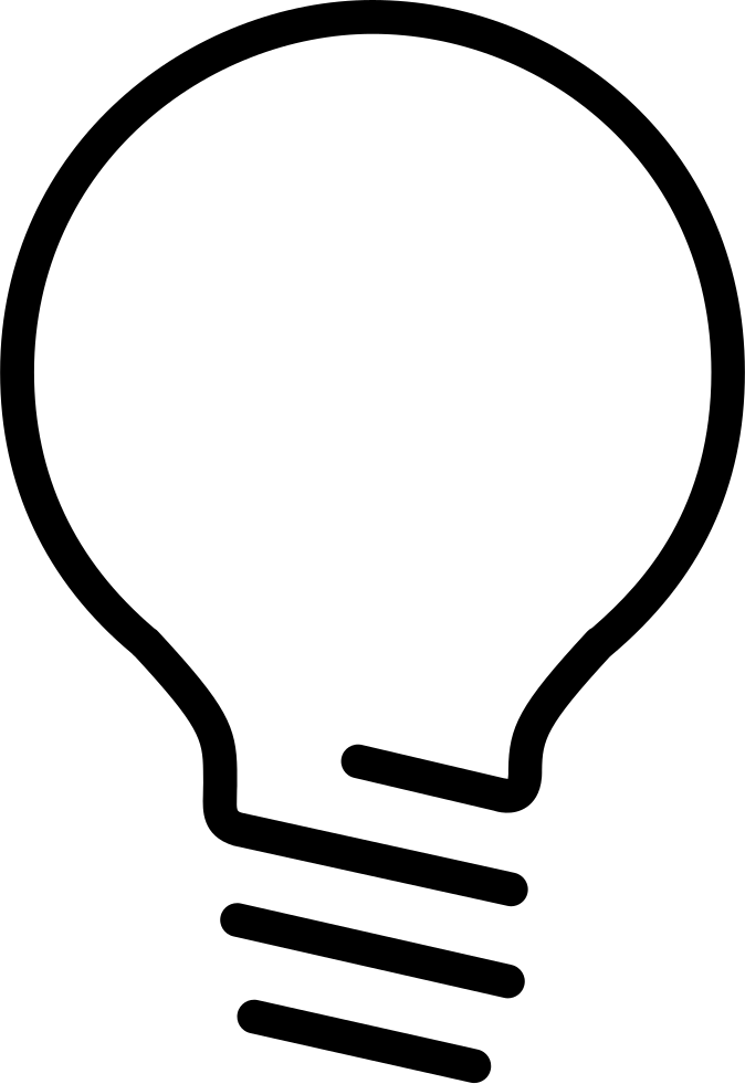 Lightbulb Svg Png Icon Free Download 248699