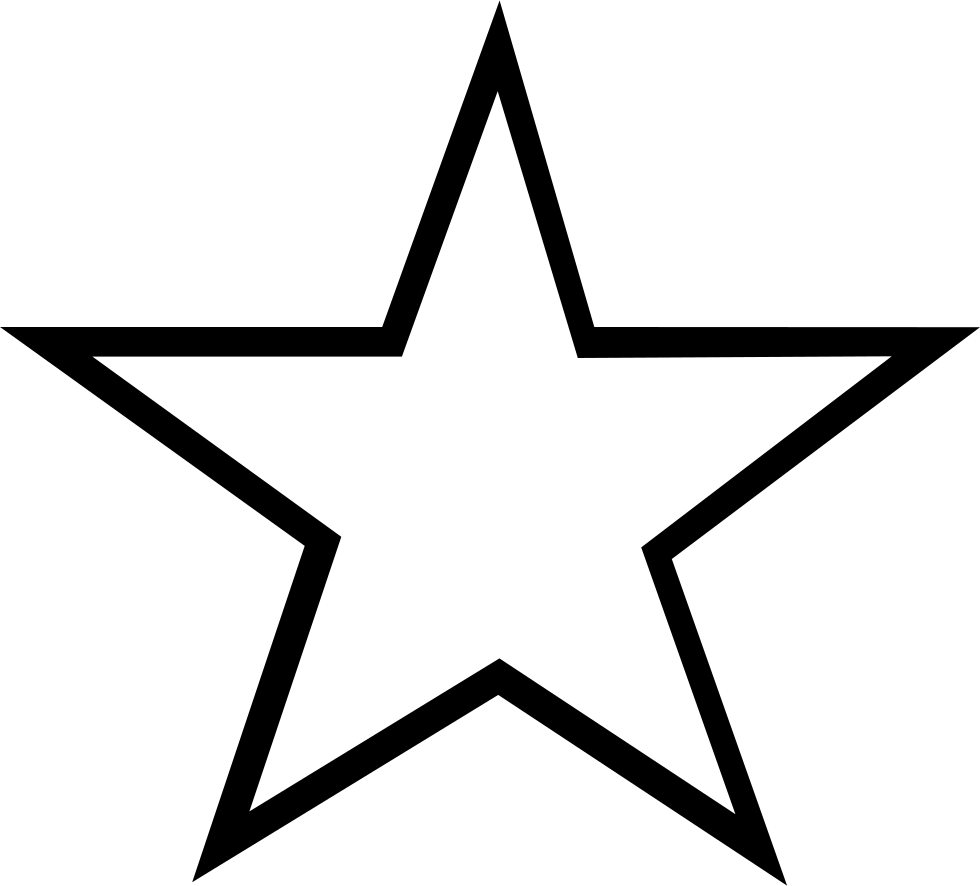 Star Outline Svg Png Icon Free Download (#271966