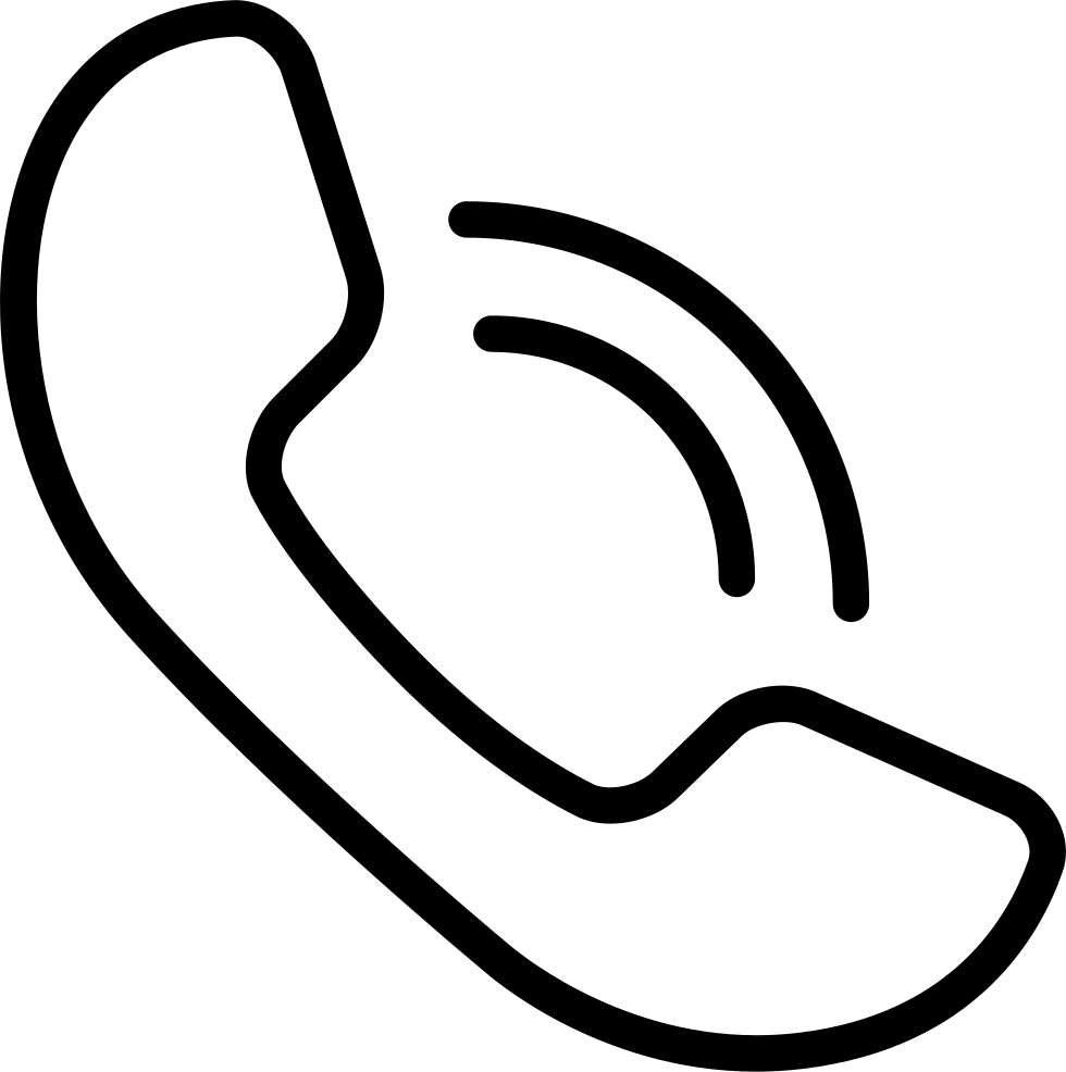 Mobile Phone Call Sign Svg Png Icon Free Download (#27343