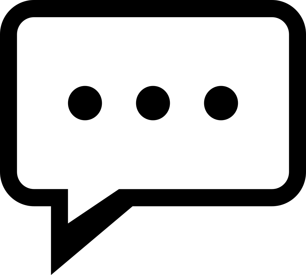 Chat Svg Png Icon Free Download 308868