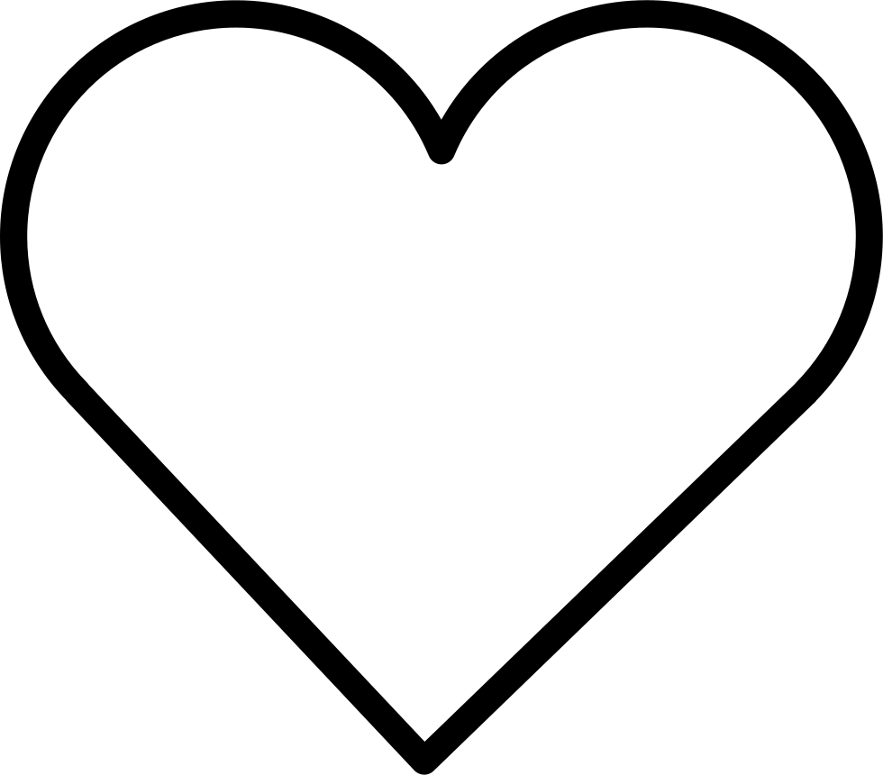 Heart Shape Svg Png Icon Free Download 34963